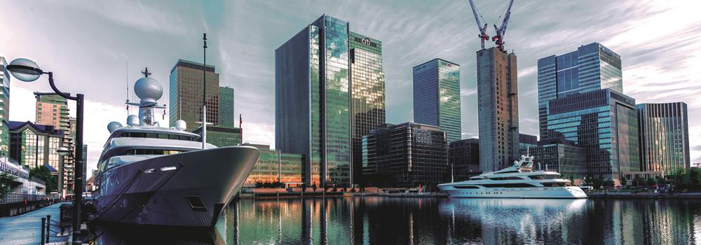 Property in Canary Wharf