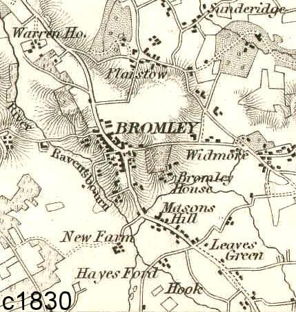 Bromley area, property information and history